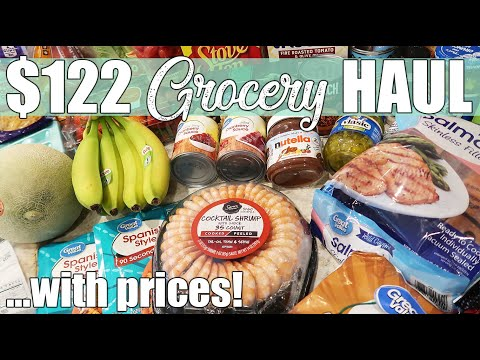 $122 Walmart Grocery Haul | No Contact Delivery at Home | April 2020