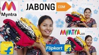 Kurti haul after wash||jabong haul||myntra haul||flipkart haul||meesho haul||kurtis try on haul