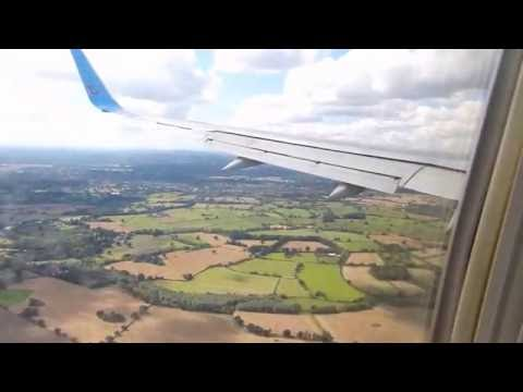 Funchal to Birmingham Airport Thomson 757 Full Flight