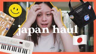 JAPAN 2019 Haul (Pt. 1) | Music stuff, camera gear, books, bags, etc