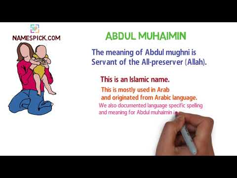 The meaning of Abdul muhaimin