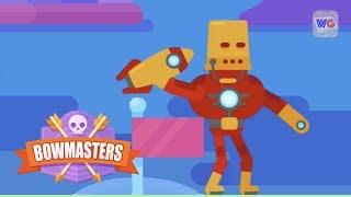 Bowmasters | Iron Man Gameplay and Tournament Glitch