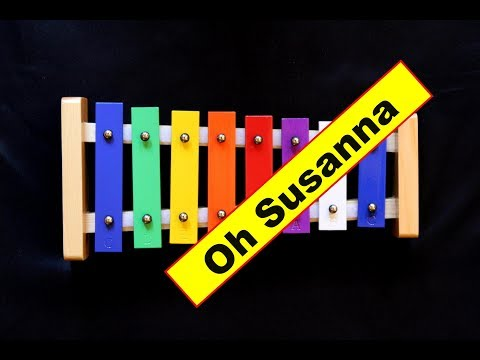 """Oh Susanna"" from Popular 8 Note Songs"
