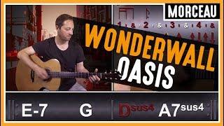 Cours de guitare : Apprendre Wonderwall de Oasis