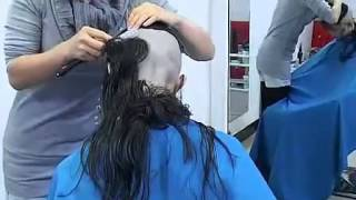 Repeat youtube video Wet Hair Shaved 3