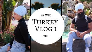 We flew to TURKEY & Explored MARMARIS! (Vlog 1 Pt 1)