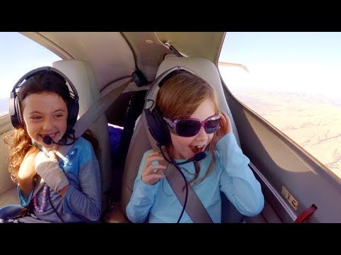 Pilot Dads Flying Daughters to DisneyLand in DA42 + Engine F