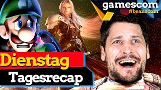 Recap Dienstag: Final Fantasy VII, Luigi's Mansion 3, Borderlands 3 | gamescom 2019