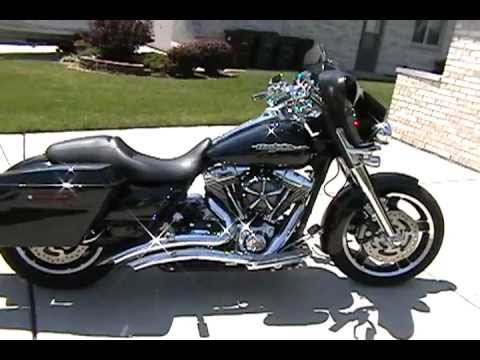 2012 Harley Davidson Flhx Street Glide With Vance Amp Hines