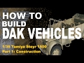 How to Build  A 1/35 Model Kit Beginners Tutorial : Tamiya 1/35 Steyr 1500: Part One Construction