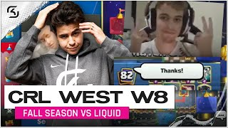 CRL West Fall Season 2020 Week 8 | SK Gaming vs Liquid | Moments