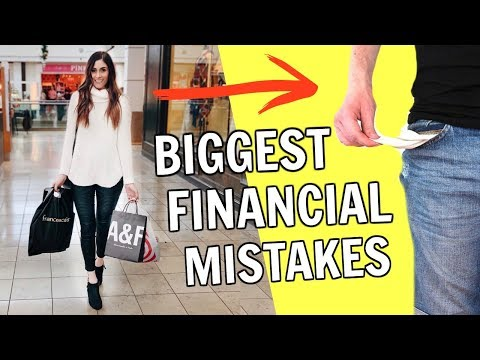 Biggest Financial Mistakes I Made In My 20's