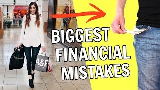 Biggest Financial Mistakes I Made In My 20