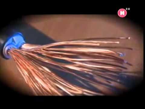 Прокладка кабелей в лотках – открытый способ