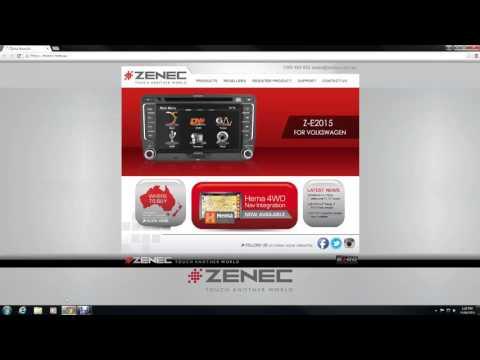 Zenec Map Update USB New title