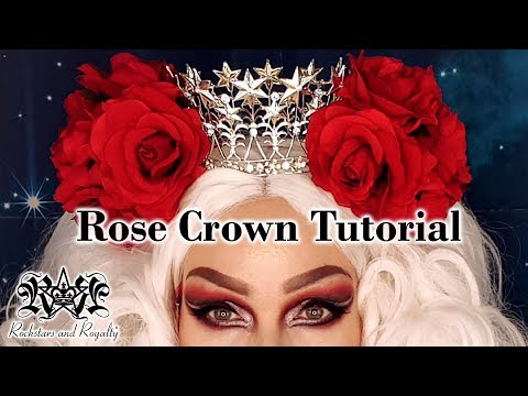 Easy Rose And Crown Headpiece Tutorial | Rockstars And Royalty