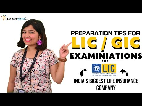 How to Crack LIC GIC exam in one go-Tips and Tricks