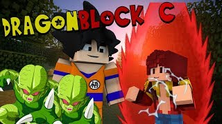 GOING SUPER SAIYAN!!! Minecraft Dragon Block C   (Minecraft Dragon Ball Z Roleplay E3)