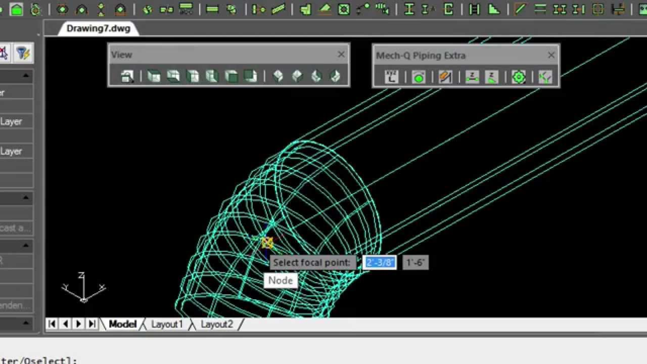 piping layout autocad [ 1280 x 720 Pixel ]