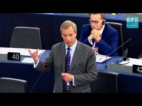 June 23rd will spell end to entire European project - Nigel Farage MEP