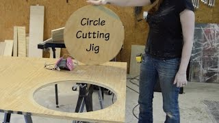 Easy Circle Cutting Jig For A Router