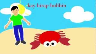 Tong, Tong, Tong (The Crab - Filipino / Tagalog Children