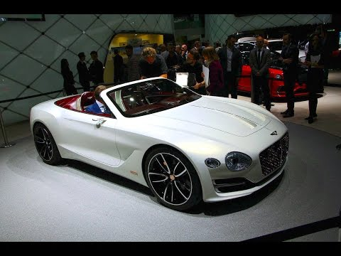Bentley EXP 12 Speed 6e Concept First Look - 2017 Geneva Motor Show