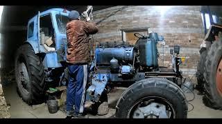 Ta'mirlash traktor bo'yicha T-40, tushunish...