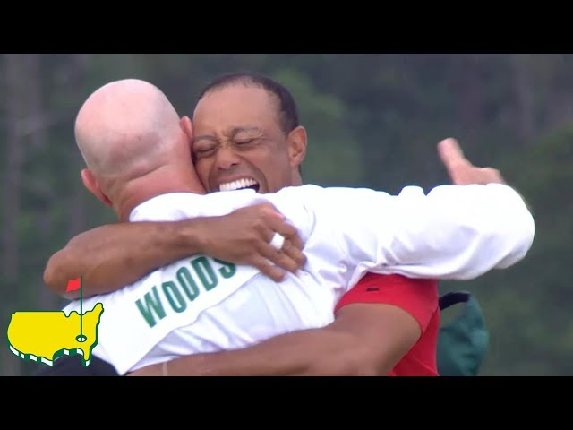 Tiger Woods Final Round