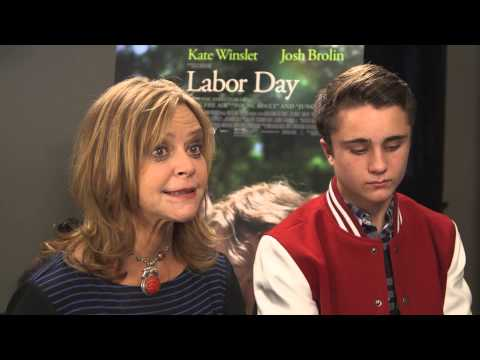 """""""Labor Day"""" Interview with Writer Joyce Maynard and Actor Gattlin Griffin"""