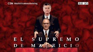 """¿Qué hacia el juez Carlos Rosenkrantz con el mayor operador judicial """"M""""?"""