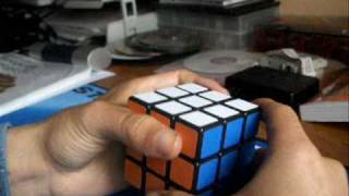 3x3x3 blindfolded solution