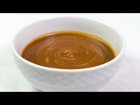 Sos de caramel - JamilaCuisine