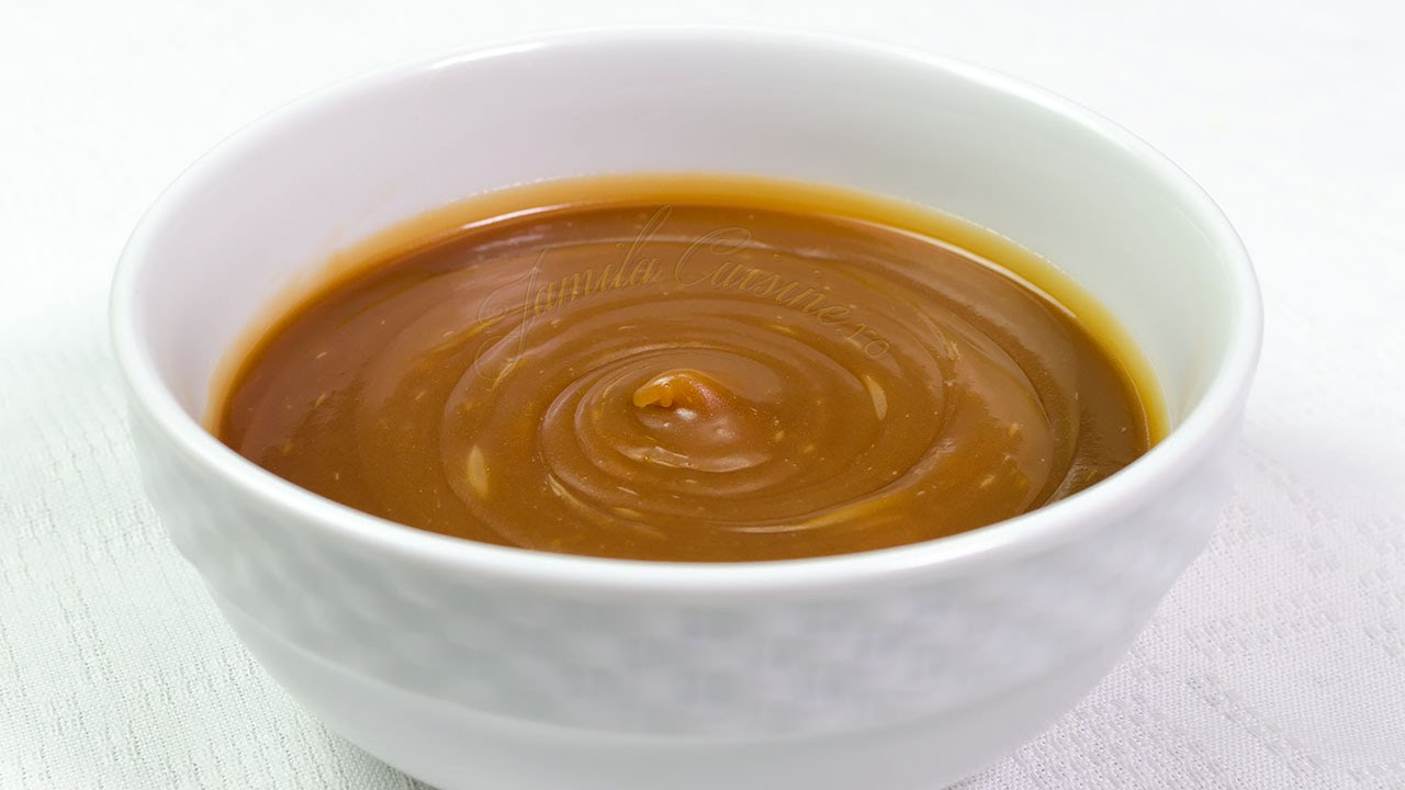 Prajitura cu crema caramel si glazura de ciocolata