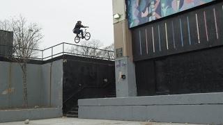 BMX Street Rider Desmond Rhodes - King Of NYC Streets Part 2