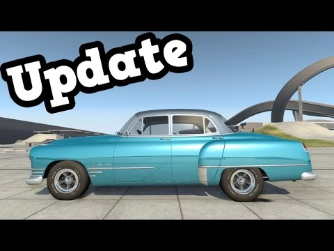 BeamNG Drive Update 0.8 - Burnside Special Custom Suspension Test