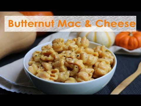 BUTTERNUT SQUASH MAC & CHEESE RECIPE!