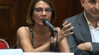 Los periodistas que fueron denunciados por Clarín expusieron en el Congreso