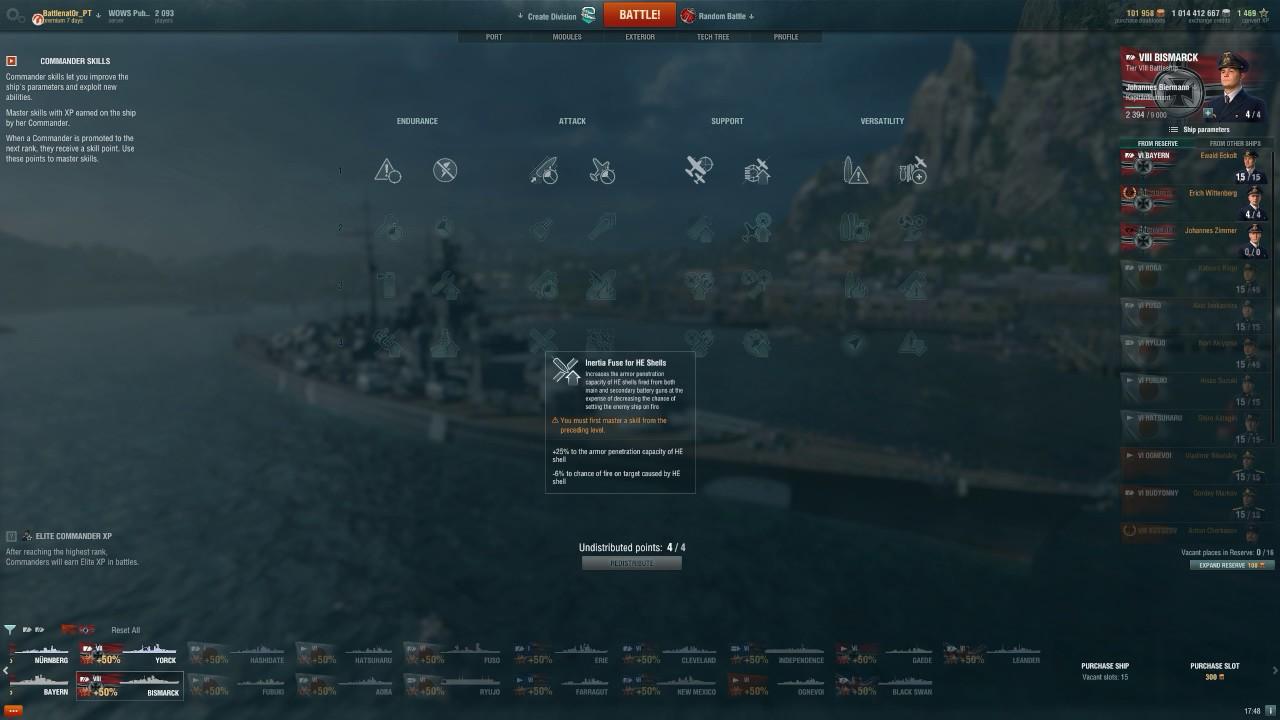 world of warships captain skills guide