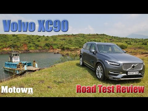 2015 Volvo XC90   Road Test Review  Motown India