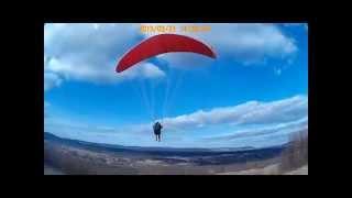 Paralotnia Krajno nauka latania 21.03.2015