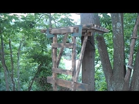 HOW TO MAKE A CHEAP PROPER HUNTING STAND! (IN DEPTH)