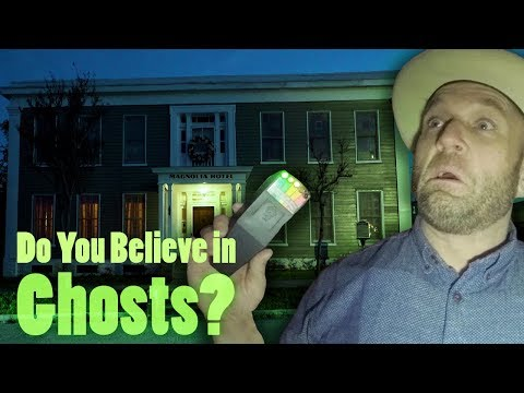 The Haunted Magnolia Hotel - One Of The Scariest Places I've Been