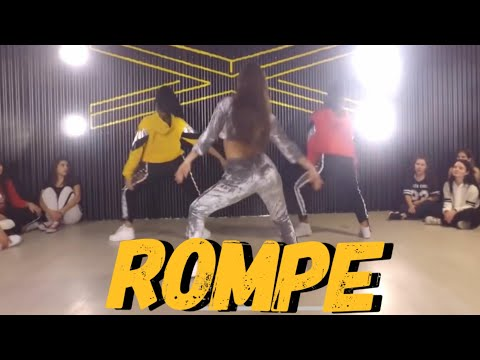 ROMPE - Ecko ft Papichamp | Choreography by Nicole Conte