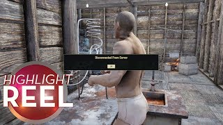 Highlight Reel #447 - Fallout 76 Player Disconnected From Clothing