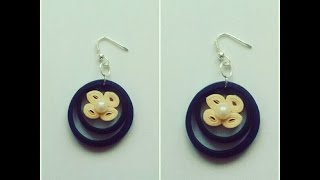 How To Make Quilling Earring Tutorial /Design 25