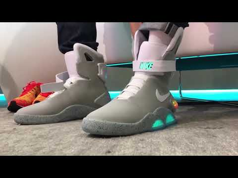 069dfce2ba2a We wear test the self lacing Nike MAG It s awesome! YouTube - YouTube