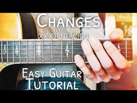 Changes XXXTENTACION Guitar Lesson for Beginners // Changes Guitar // Lesson #445