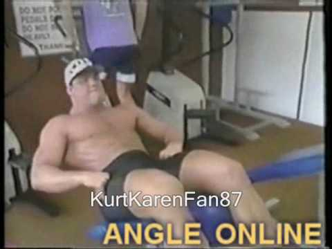 A Man In Motion-Kurt Angle