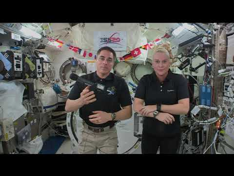 Expedition 63 Inflight with the Deptartment of Health and Human Services - October 16, 2020